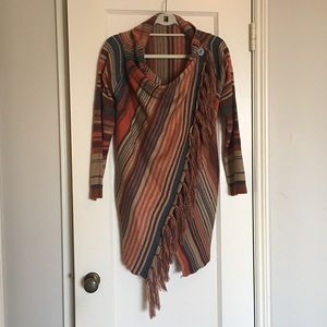 Anthropologie Fringe Sweater